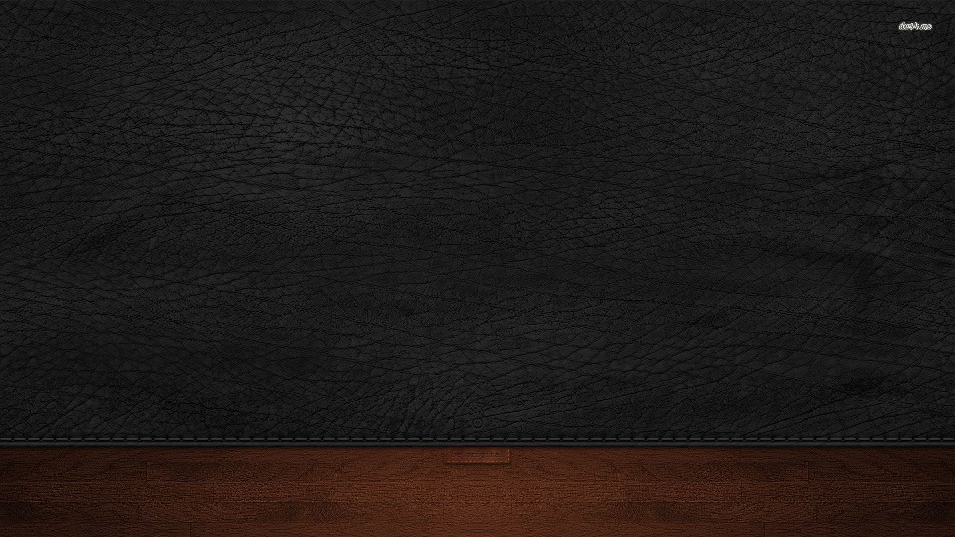 1920x1080 Be original black leather wallpaper - Abstract wallpapers ...