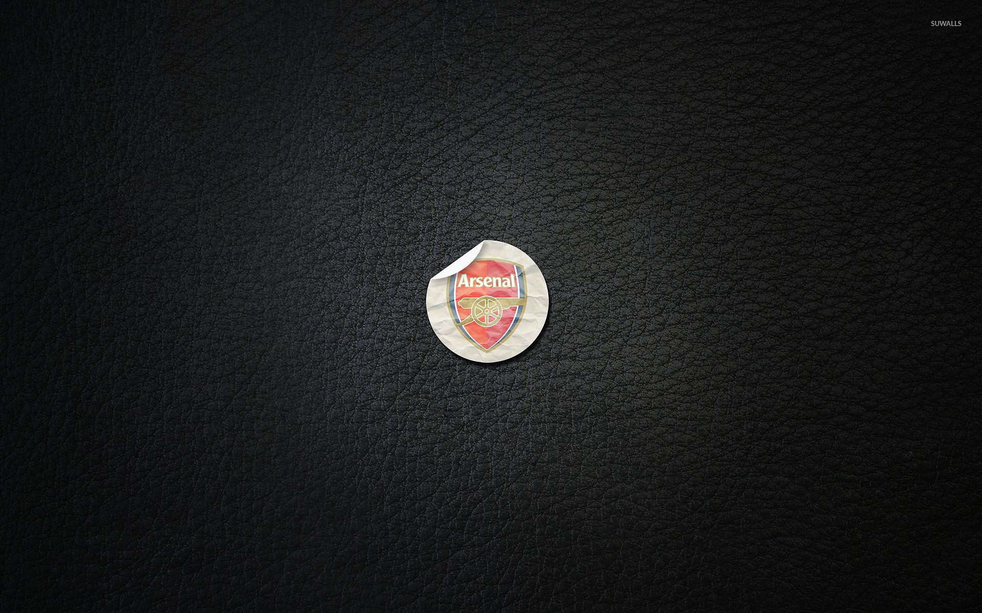 1920x1200 Arsenal F.C. on black leather wallpaper - Sport wallpapers ...