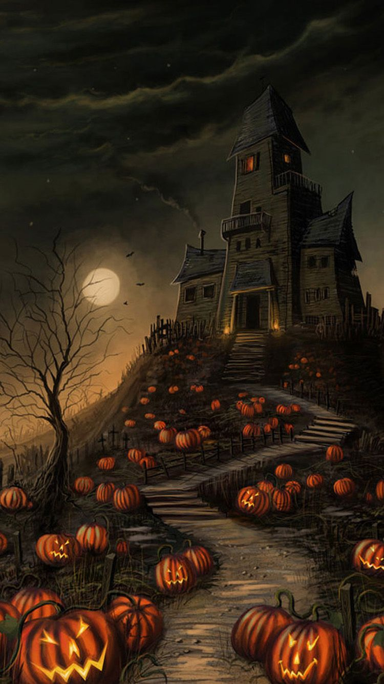 750x1334 Halloween Wallpaper Hd For Iphone (#123339) - HD Wallpaper ...