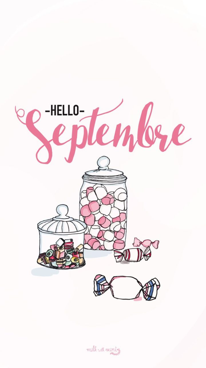 720x1284 Wallpaper Iphone - Hello September Candy Sweets iPhone Lock ...