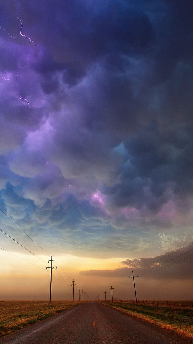 674x1200 Texas-usa-road-storm-clouds-iPhone-Wallpaper | Texas Forever ...