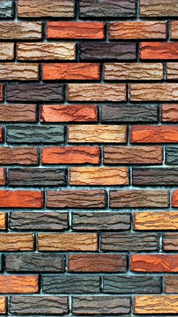 750x1334 Brick Wall Texture Pattern iPhone 6 Wallpaper HD - Free ...