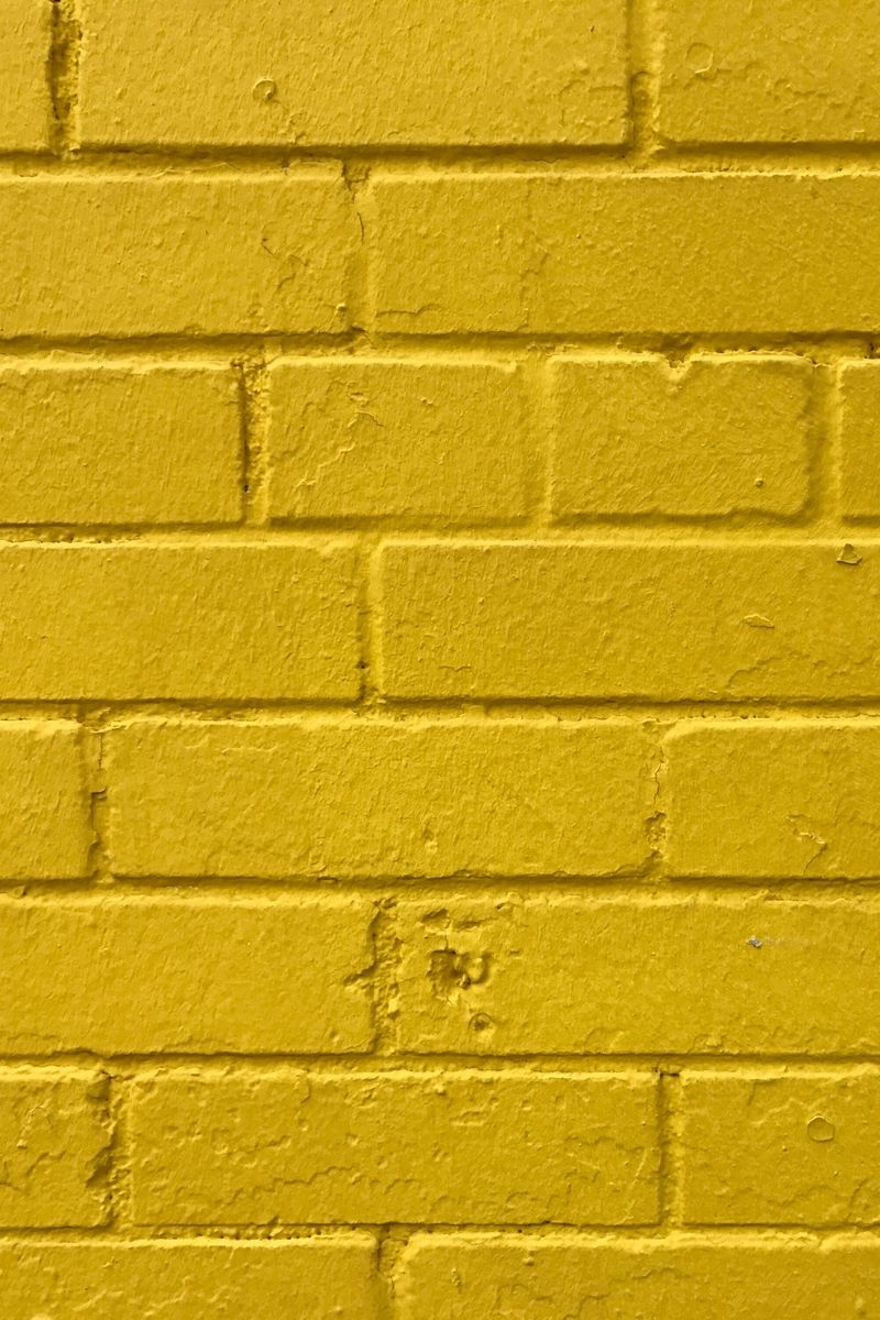 800x1200 Download wallpaper 800x1200 bricks, yellow, wall, texture ...
