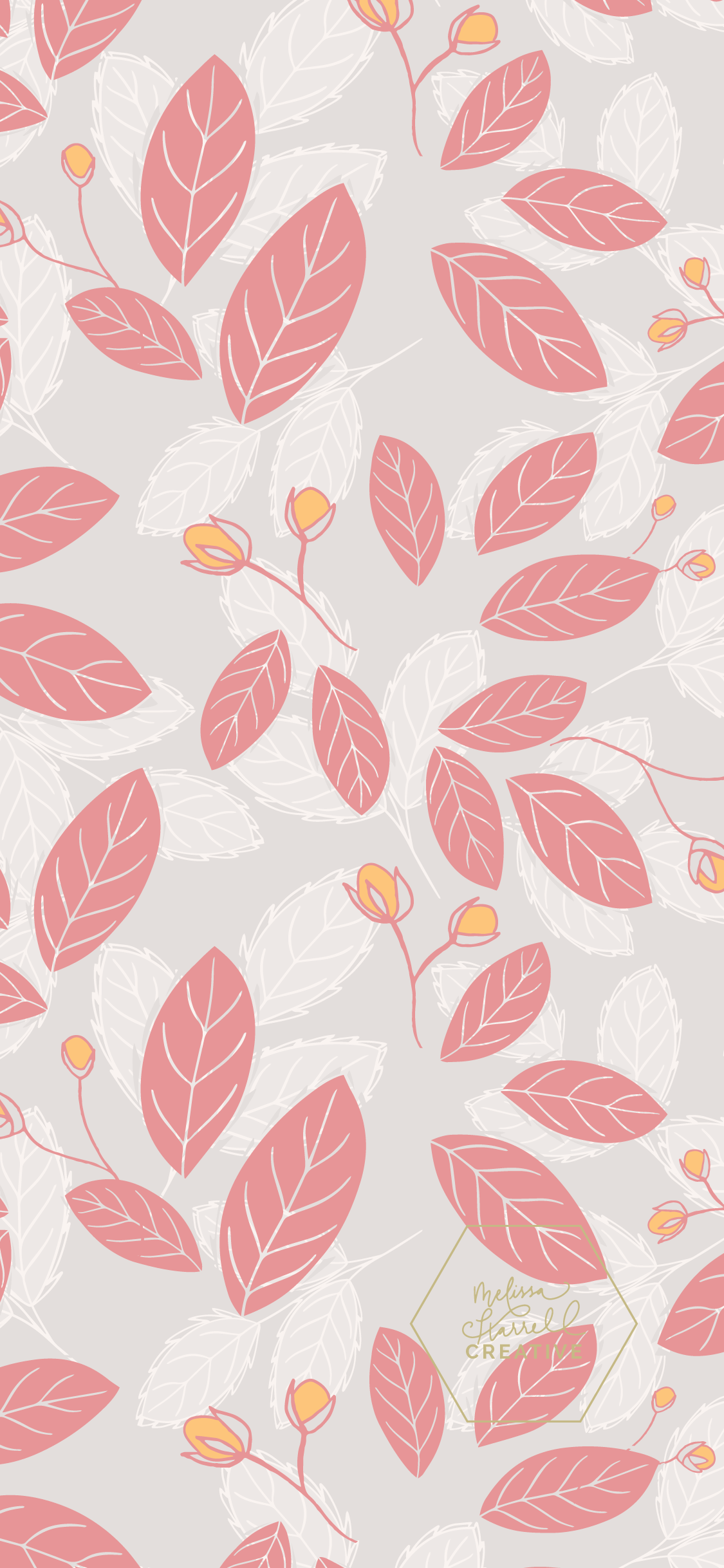 1125x2436 March free wallpapers — Melissa Harrell Creative