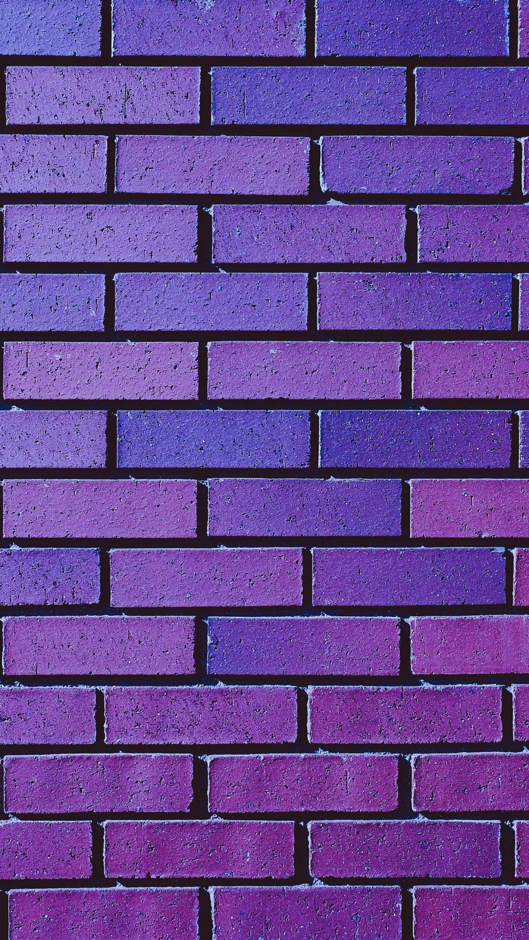 1080x1920 Purple Brick Wall Wallpapers | HD Wallpapers | ID #28649