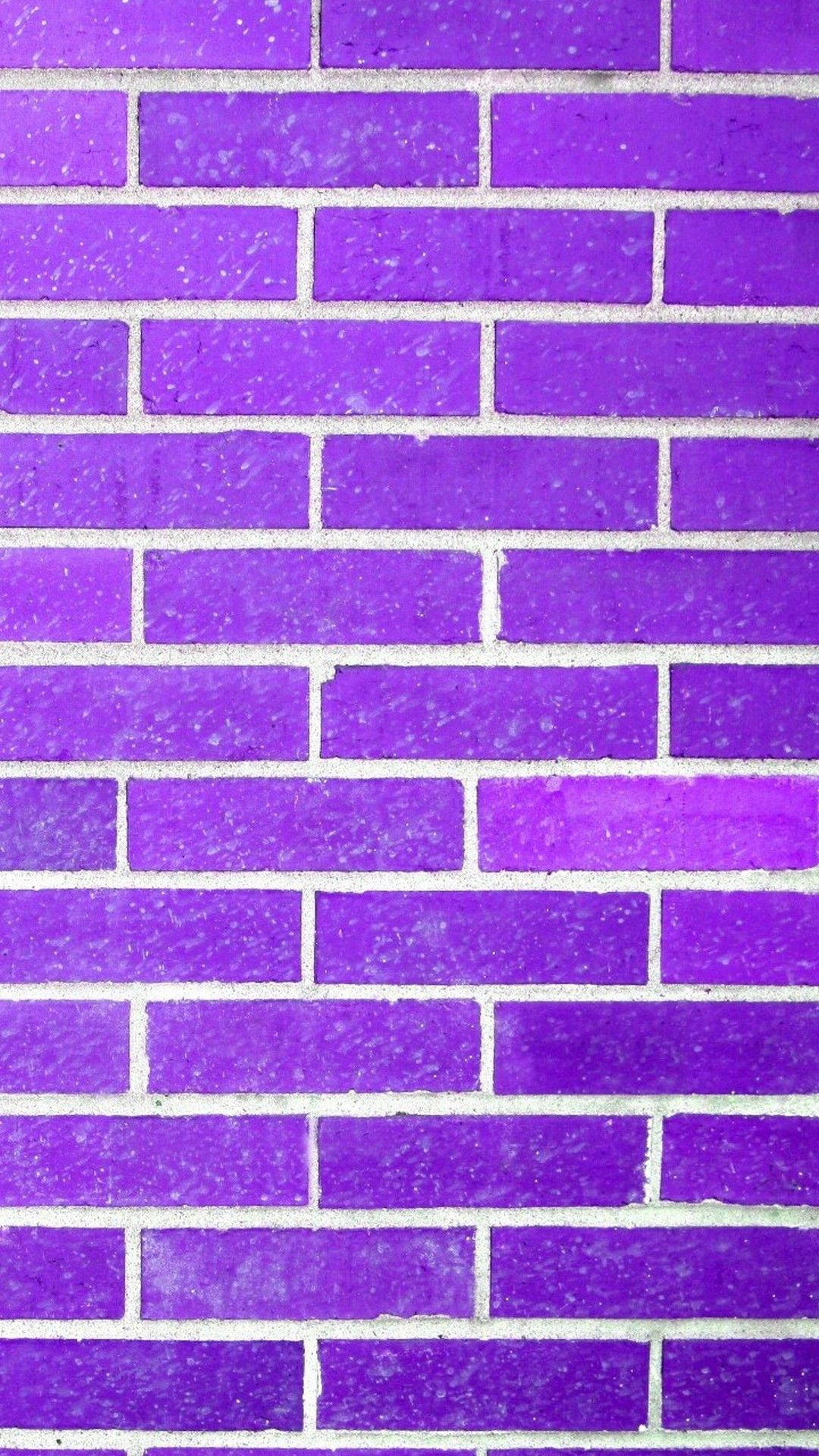 1080x1920 Purple Brick Wall Texture iPhone Wallpaper | 2019 3D iPhone ...