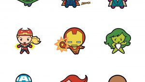 Kawaii Avengers Wallpapers – Top Free Kawaii Avengers Backgrounds