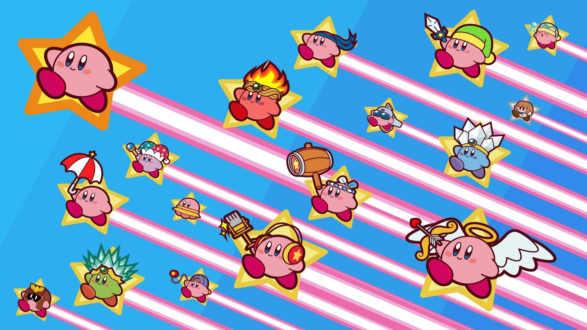 1920x1080 71+ Cute Kirby Wallpapers on WallpaperPlay