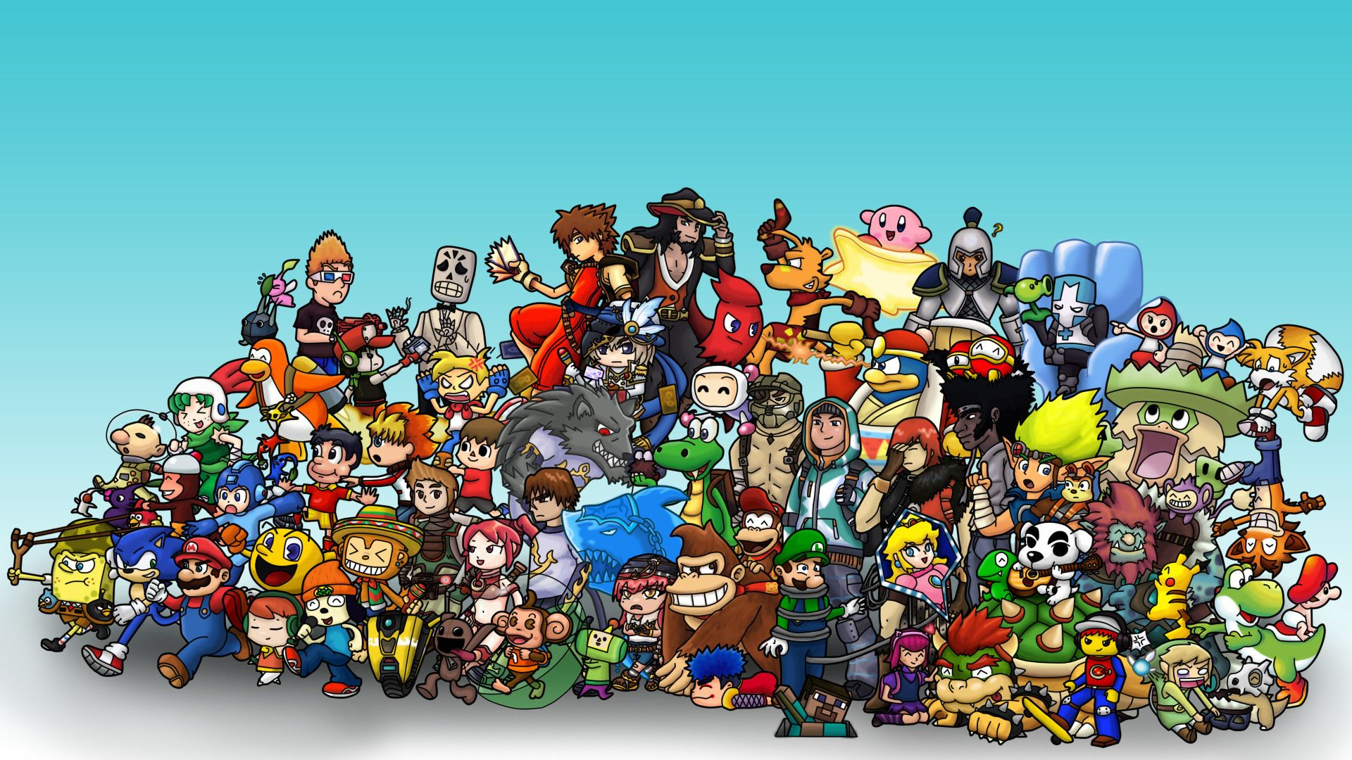 1920x1080 Video Game Wallpaper themes (66+ images)