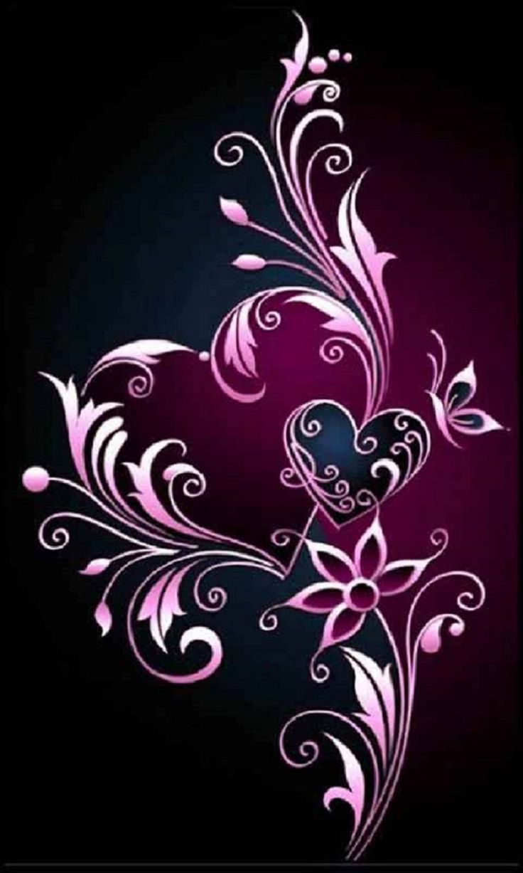 736x1227 Beautiful Glitter Flowers and Hearts Images | Top Collection ...