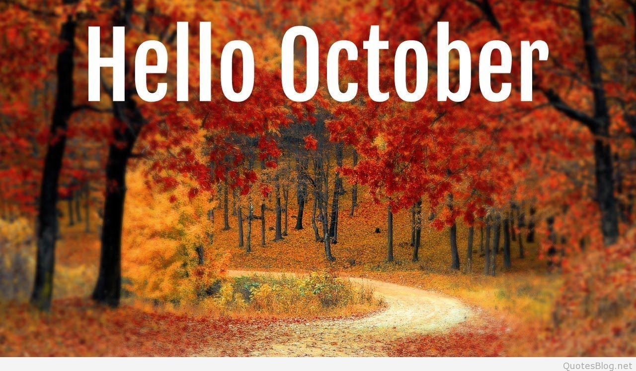 1280x748 Hello October Images, Hello October Wallpapers
