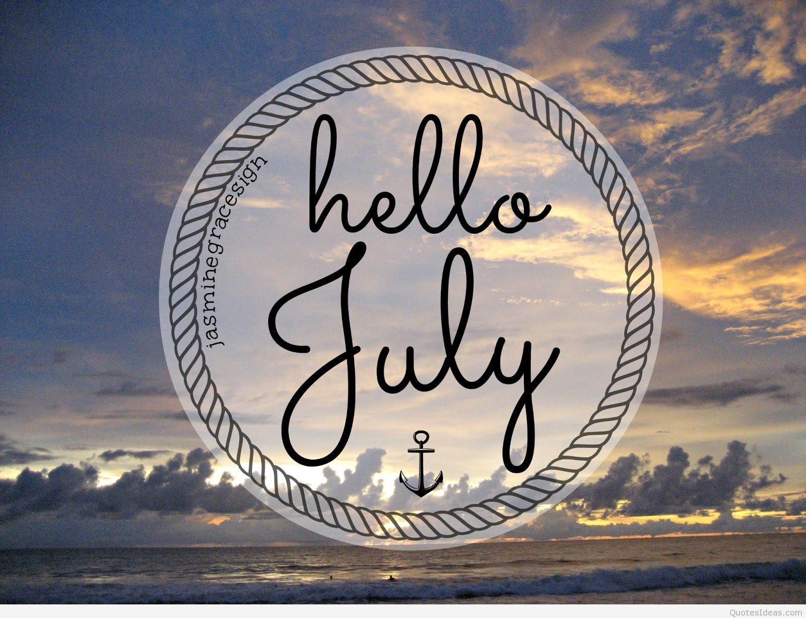 1600x1227 Awesome hello July photos, sayings, quotes wallpapers hd
