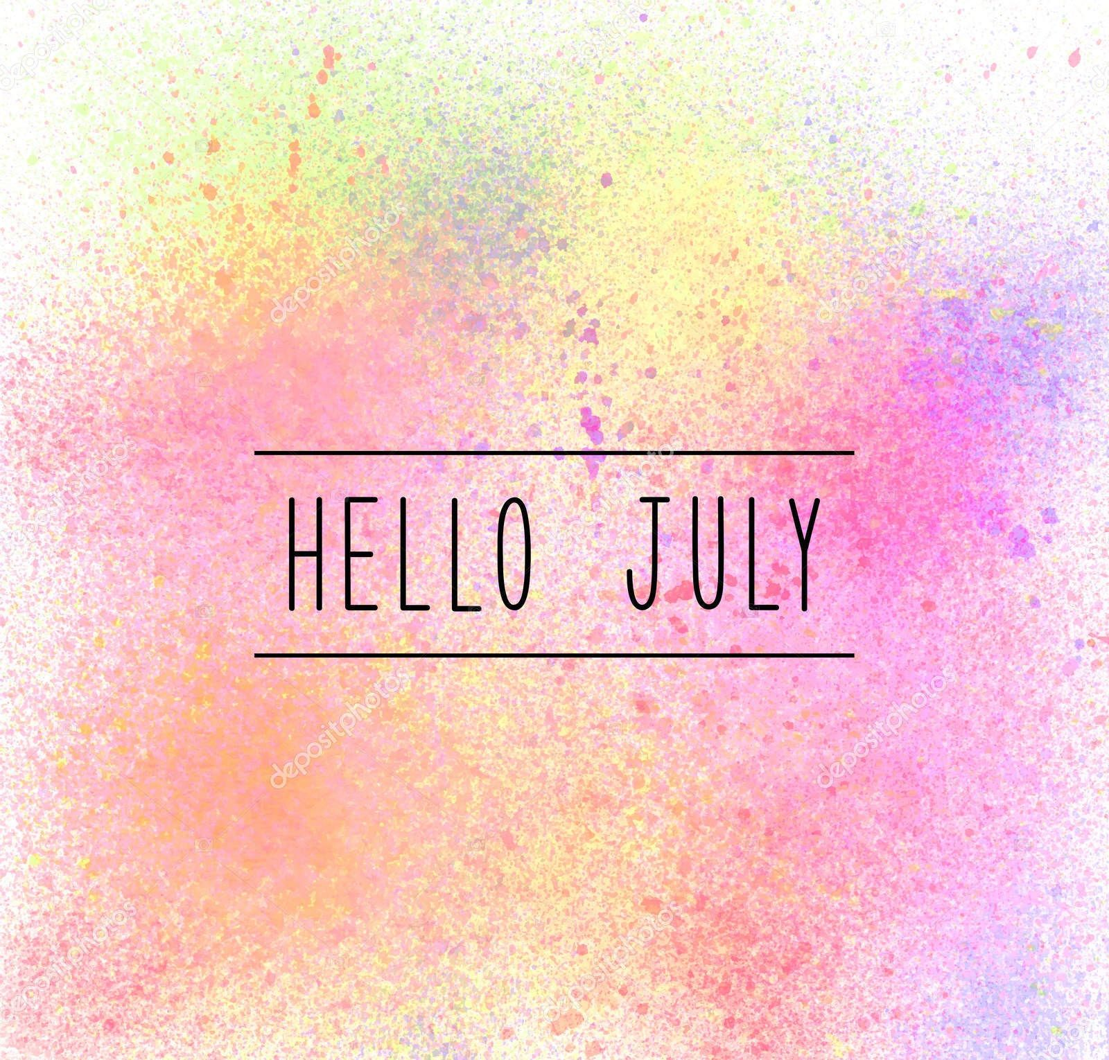 1600x1530 Funny Hello July Images, Pictures