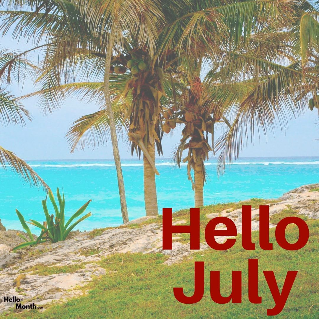 1080x1080 Free Hello July Wallpaper and HD Images   Pinterest, We Heart It