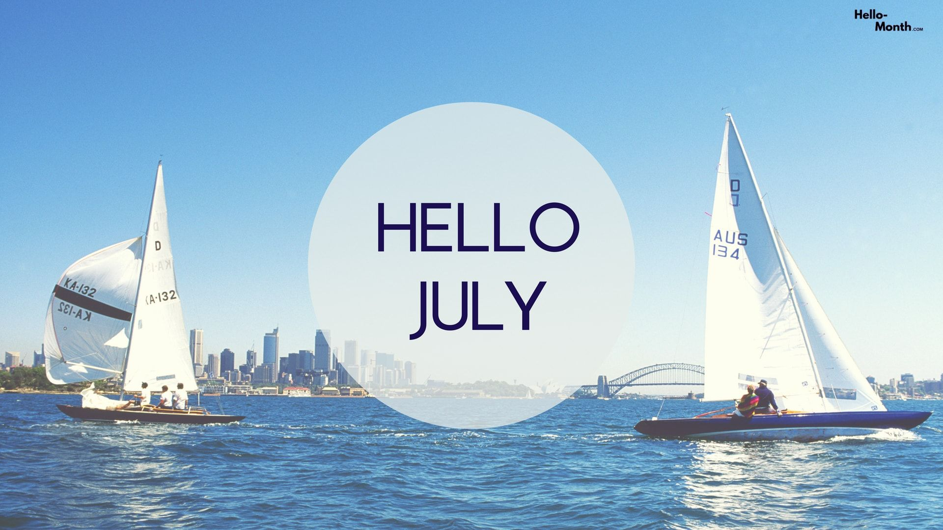 1920x1080 Download Hello July HD Images   July Month Top Images