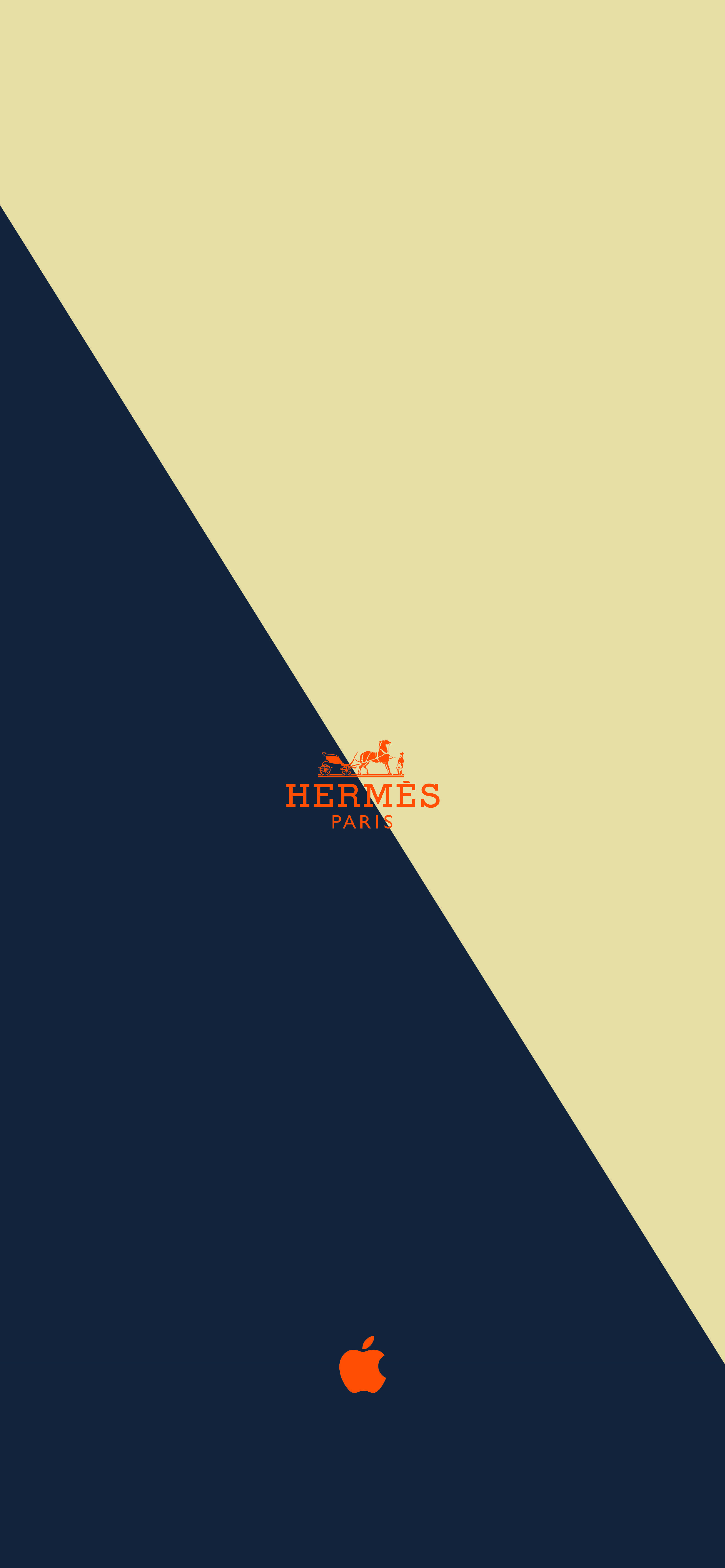 2587x5599 I made this Hermes wallpaper from Apple watch : iphonewallpapers