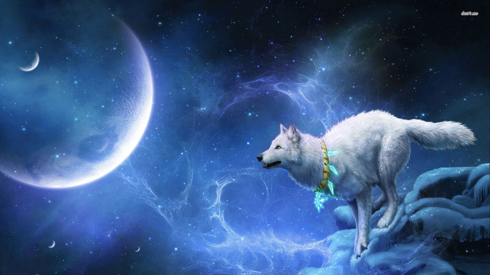 1920x1080 Fantasy Wolf Wallpapers and Background Images - stmed.net
