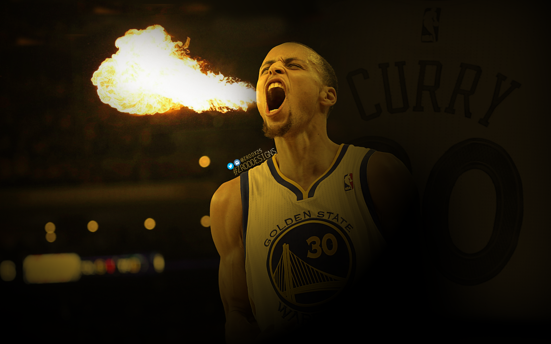 1920x1200 Stephen Curry Fire by zroddesigns 1