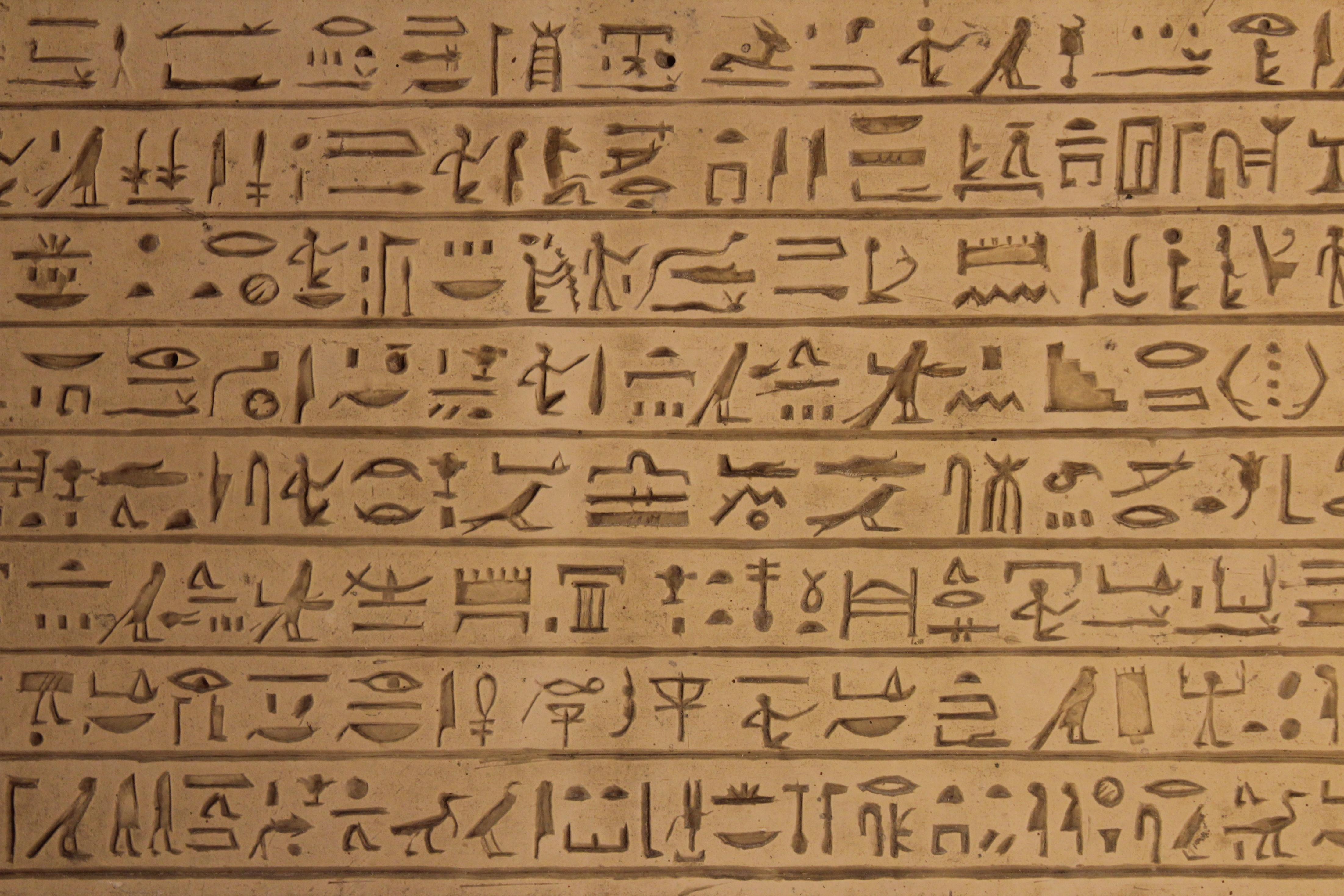 4406x2937 Download Free Egyptian Hieroglyphics Wallpapers | PixelsTalk.Net