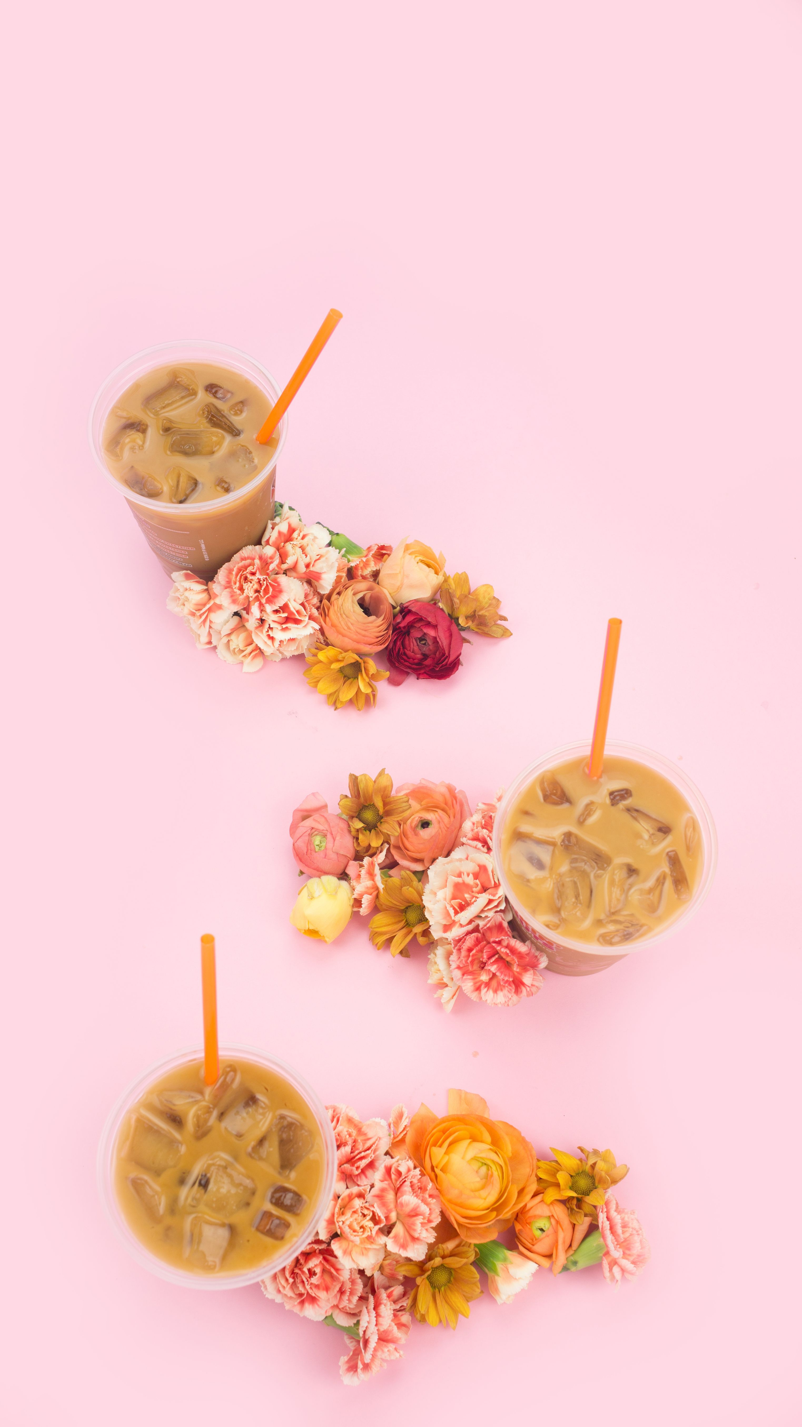 3046x5418 Celebrating Iced Coffee Season with New Mobile Wallpapers ...