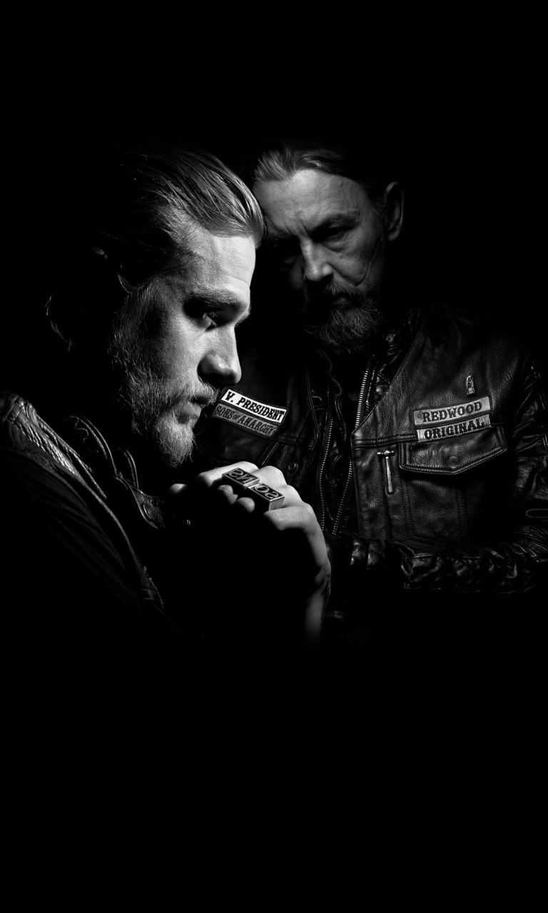 768x1280 48+] Sons of Anarchy iPhone Wallpaper on WallpaperSafari