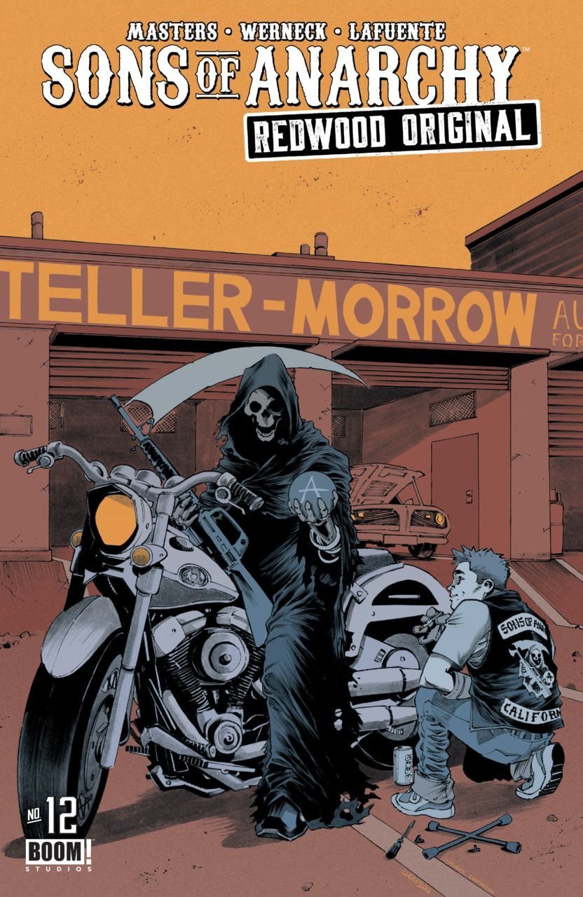 832x1280 Sons of Anarchy Redwood Original #12 (Issue) | Comic Book ...