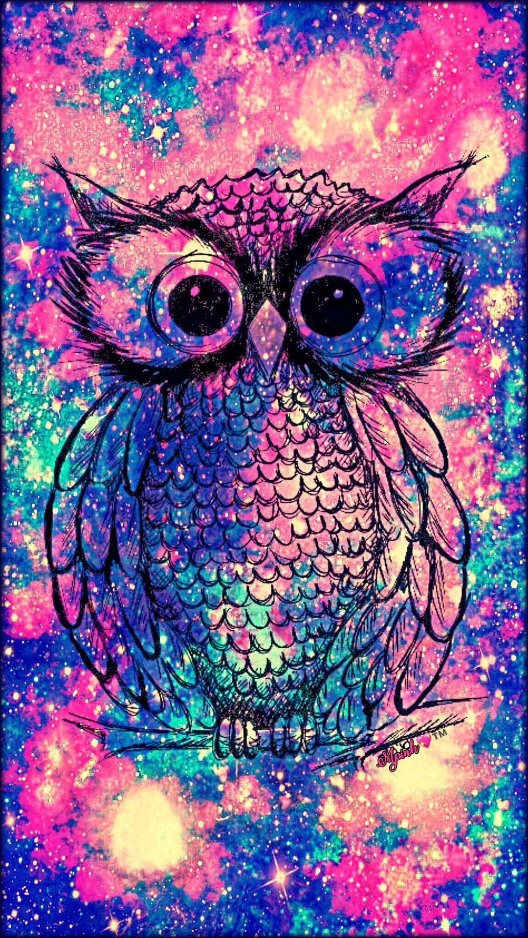 1080x1920 50+ Girly Owl Wallpapers - Download at WallpaperBro