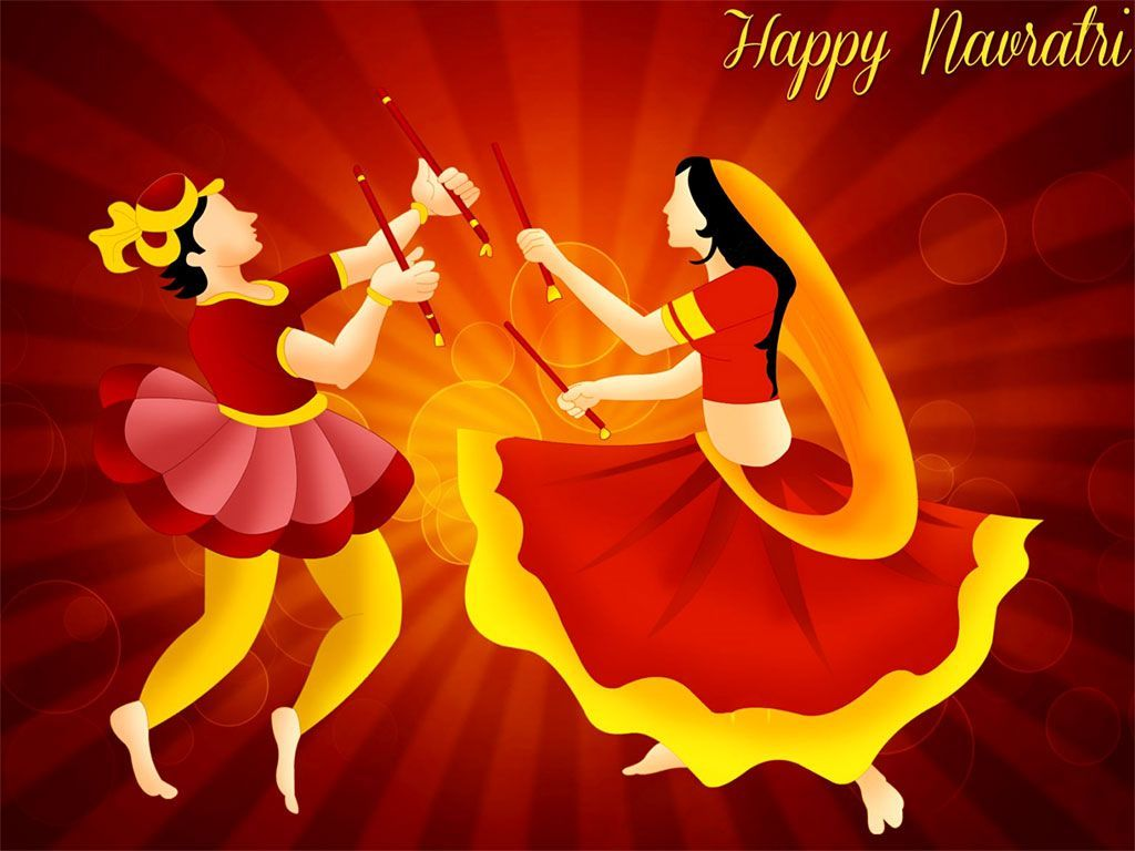 1024x768 Navratri Dandiya Wallpaper Free Download | Navratri ...