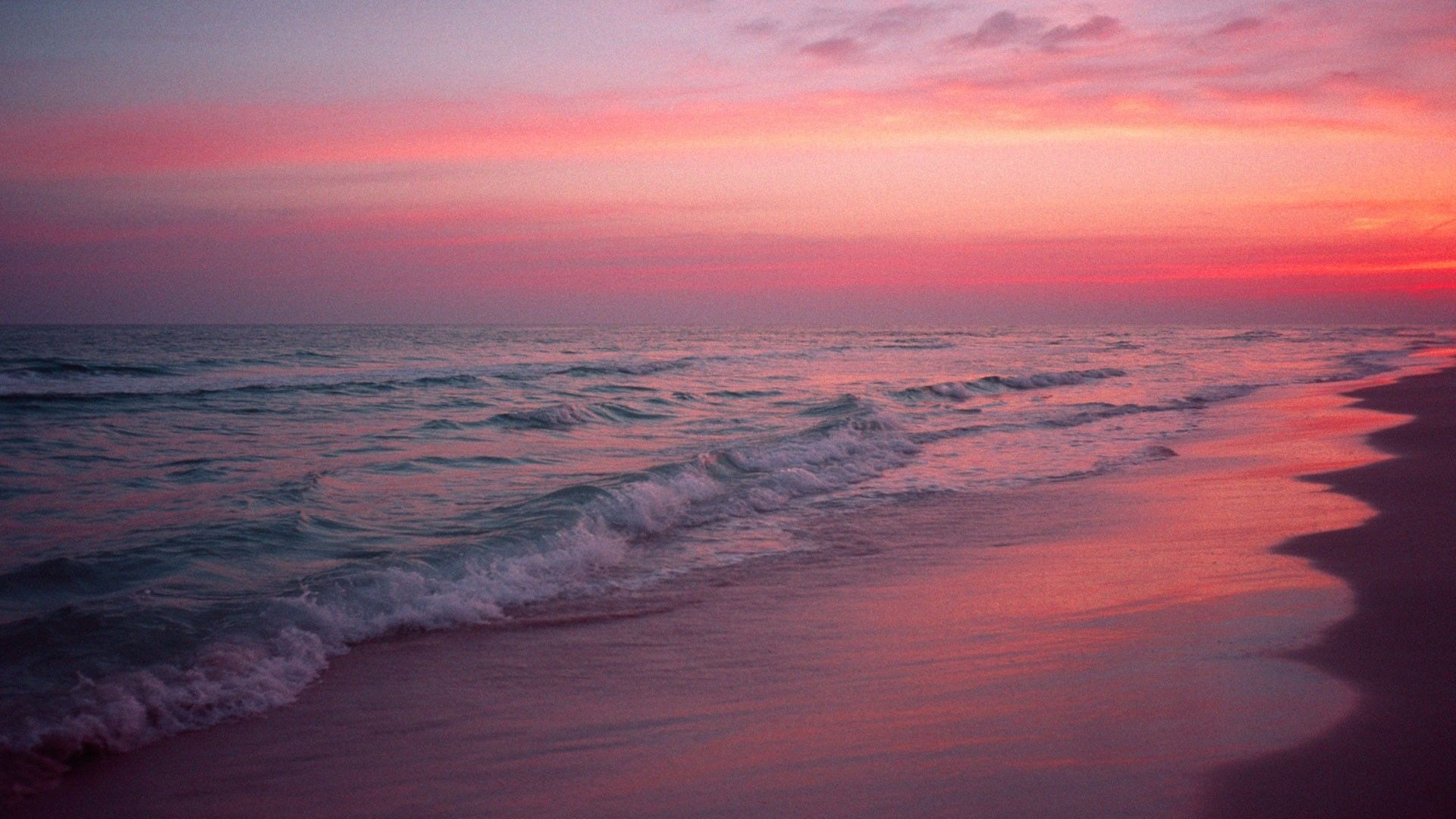 1920x1080 Pink Beach Wallpaper , (49+) Pictures