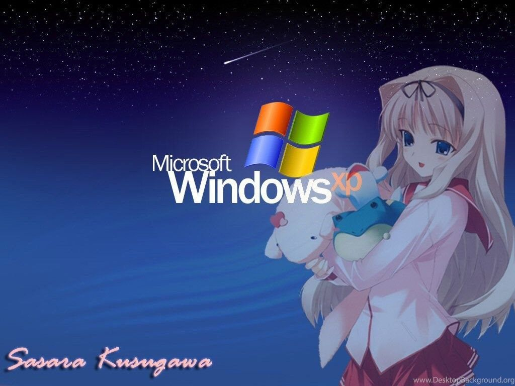 1024x768 Windows Xp Anime Wallpapers Windows Xp Anime Picture Desktop Background