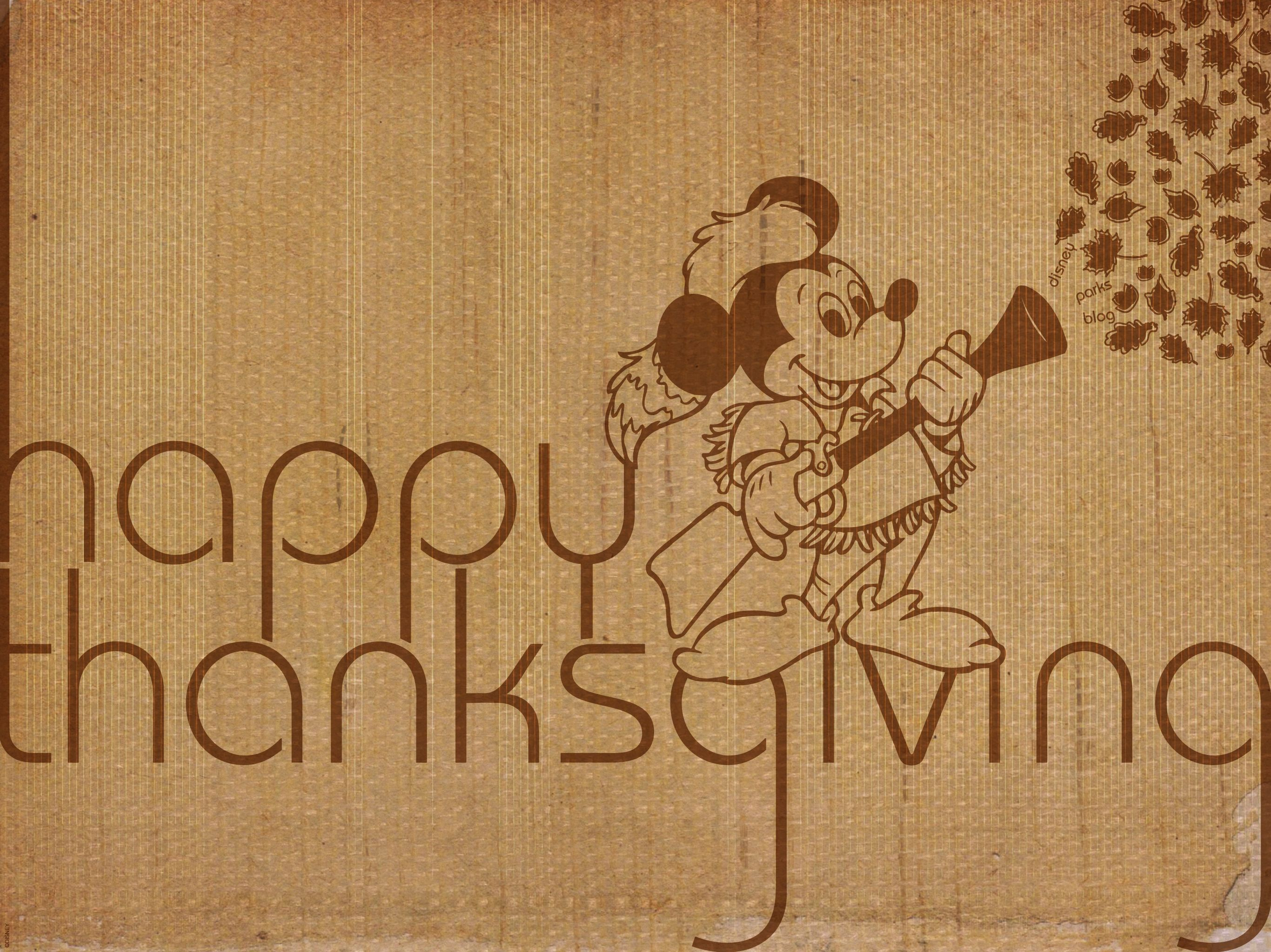 2732x2048 Happy Thanksgiving from Mickey Mouse   Disney Parks Blog