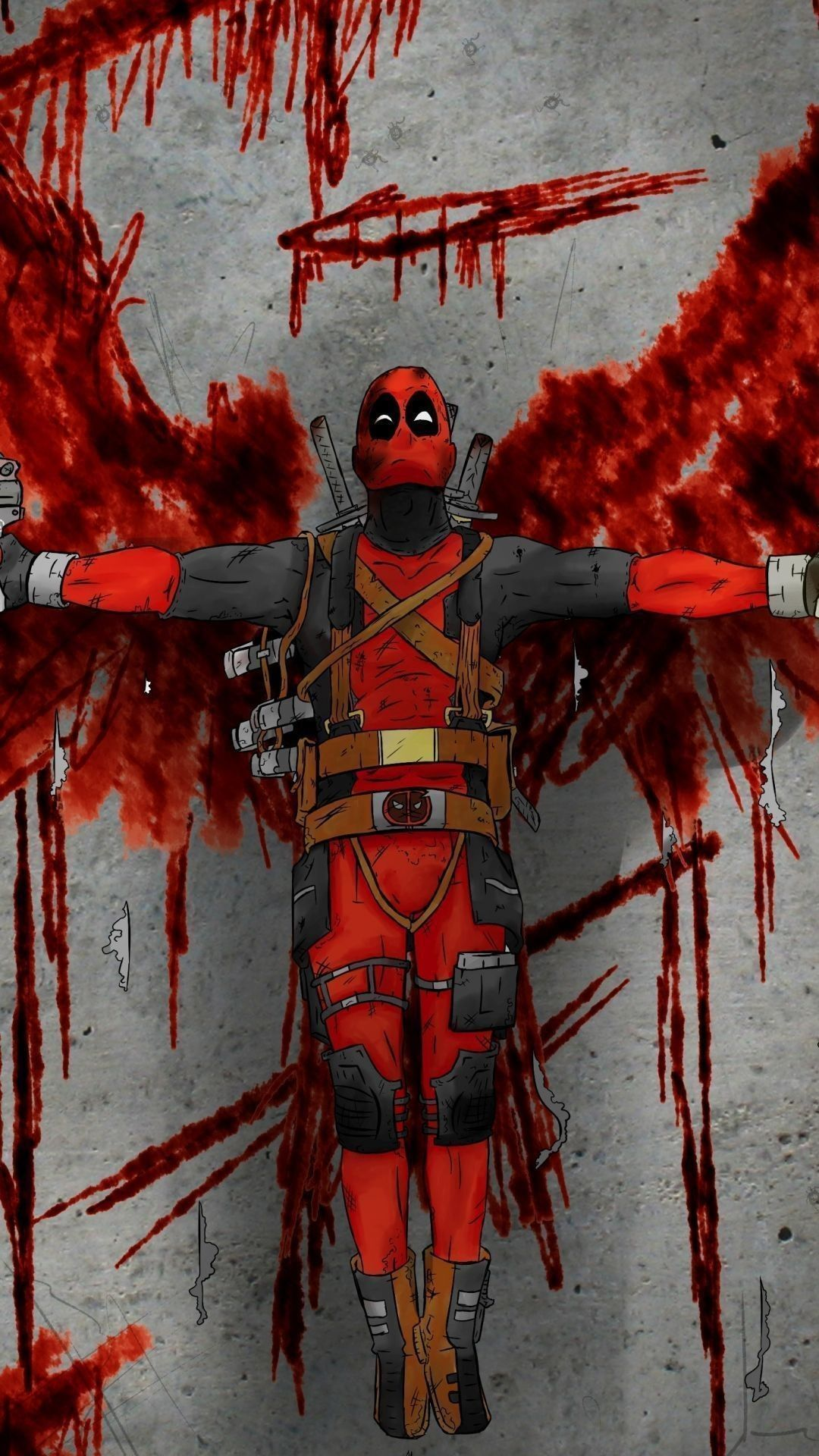 1080x1920 79+ Cool Deadpool Wallpapers on WallpaperPlay