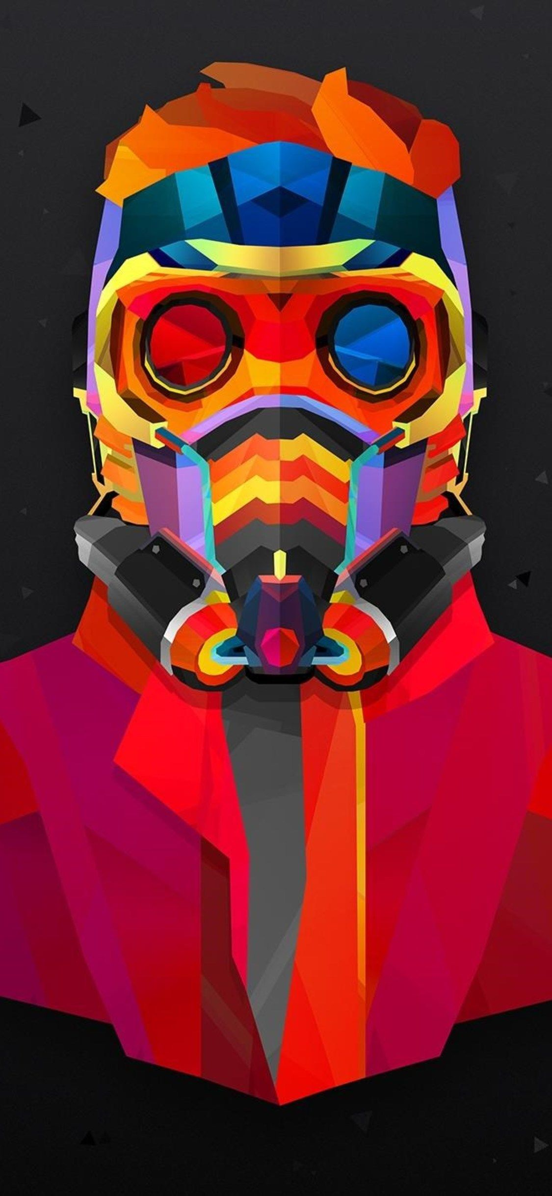 1125x2436 1125x2436 Star Lord Colorful Abstract Iphone XS,Iphone 10 ...