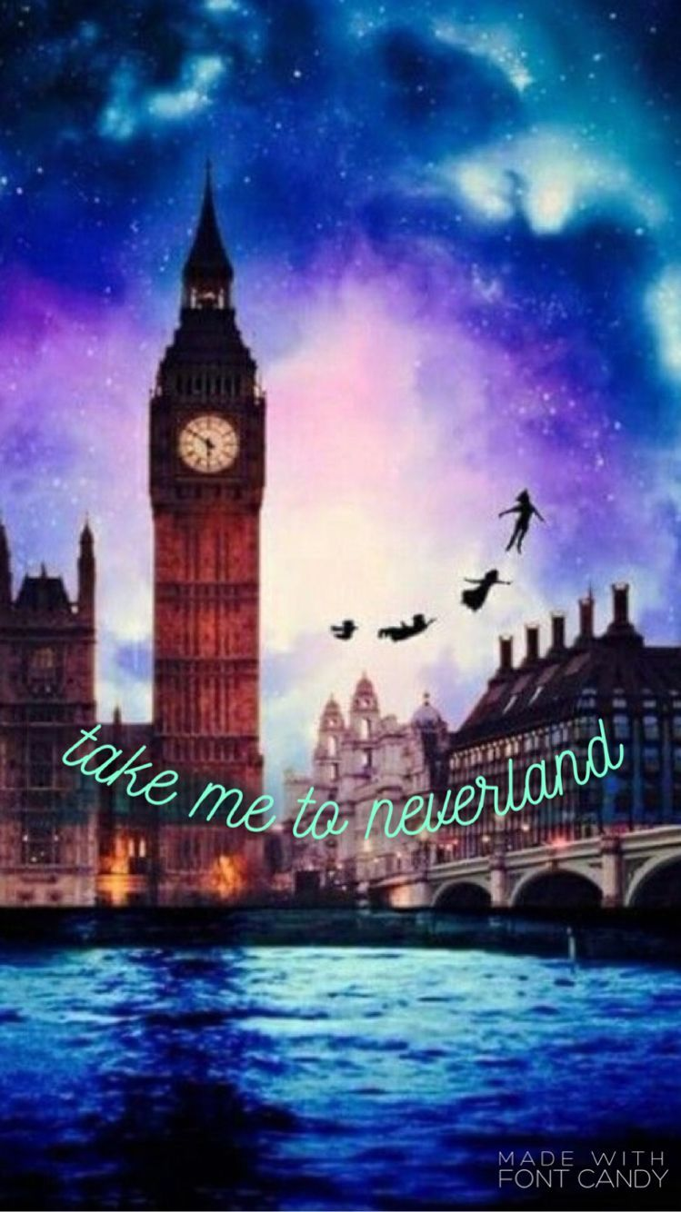 749x1334 Take Me To Neverland-Disney iPhone Wallpaper | wallpapers ...