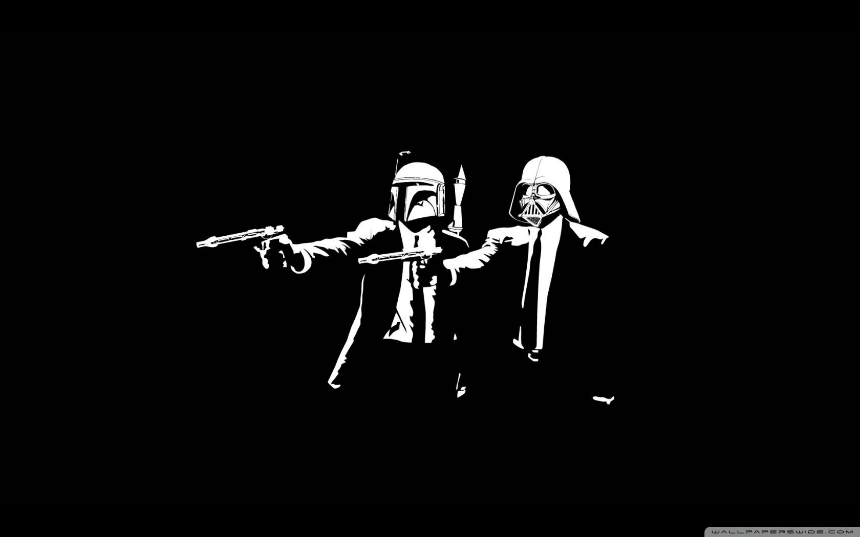 1680x1050 Wallpaper Hd 1080P Black And White Star Wars | Wallpapers Memes
