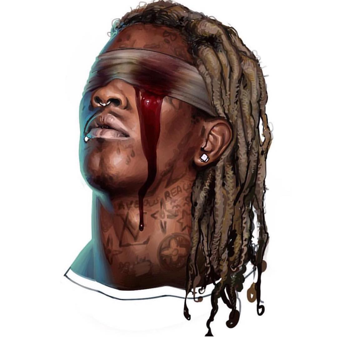 1080x1080 Young Thug The London Wallpapers