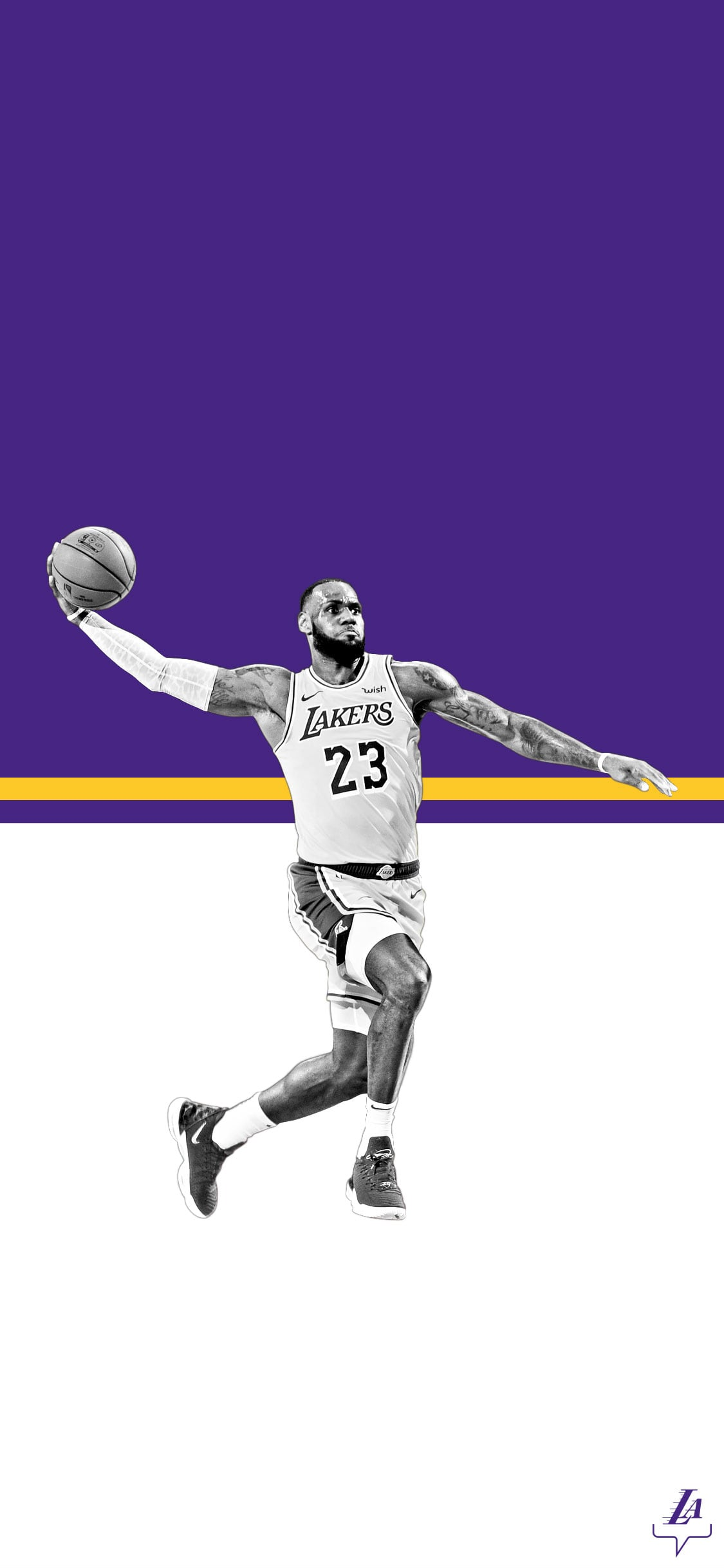 1125x2436 Lakers Wallpapers and Infographics | Los Angeles Lakers