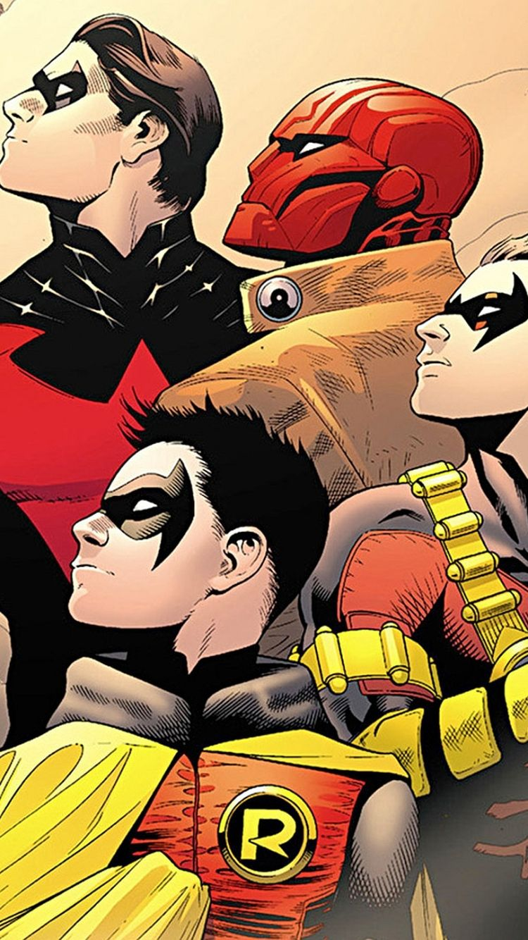750x1334 Comics/Batman & Robin (750x1334) Wallpaper ID: 52924 ...