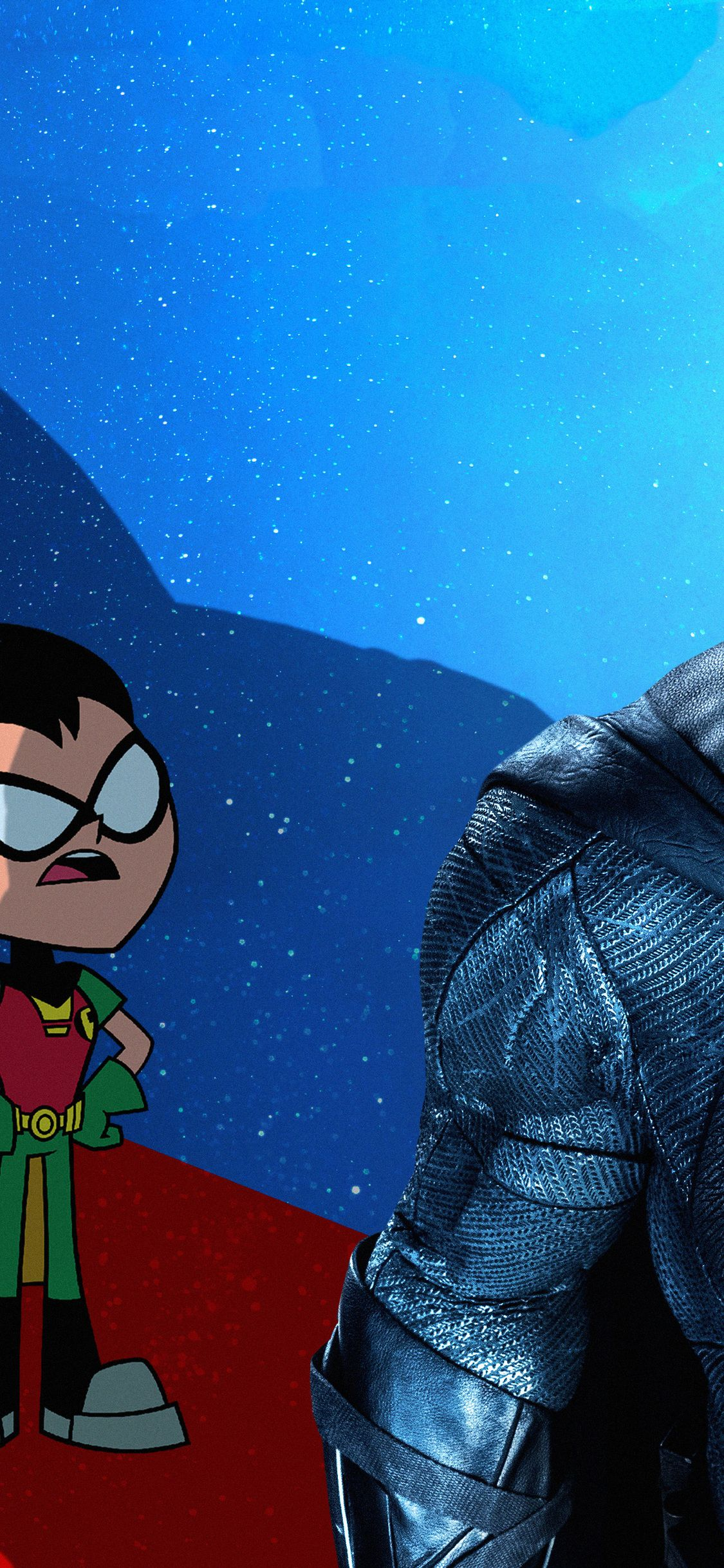 1125x2436 1125x2436 Robin In Teen Titans Go To The Movies 2018 Movie ...