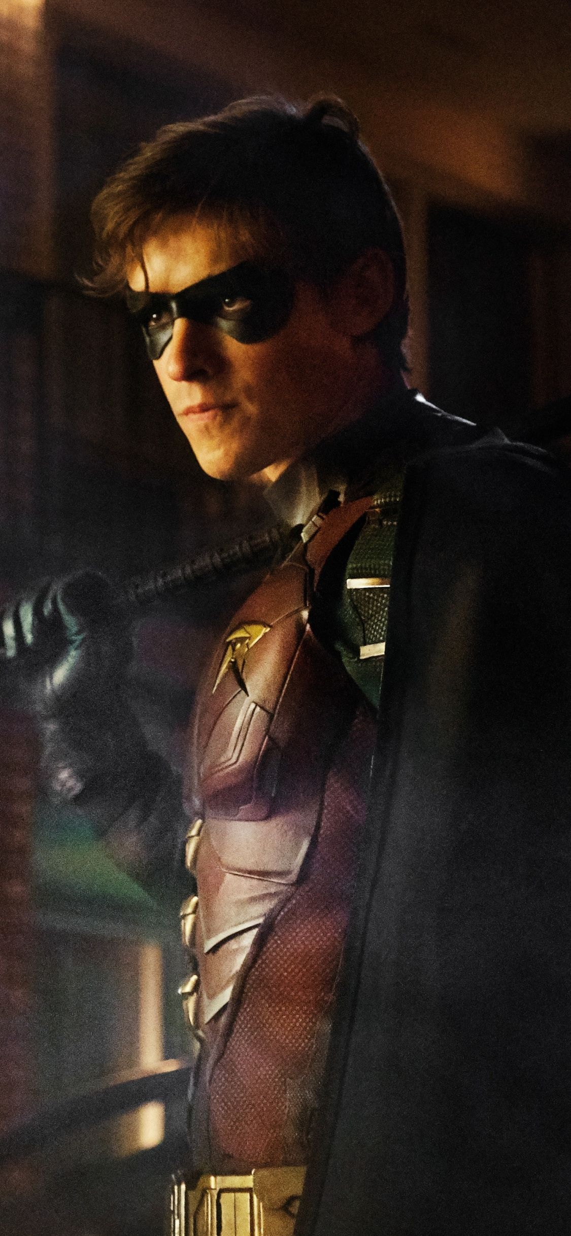 1125x2436 Download 1125x2436 wallpaper robin, titans, tv series ...