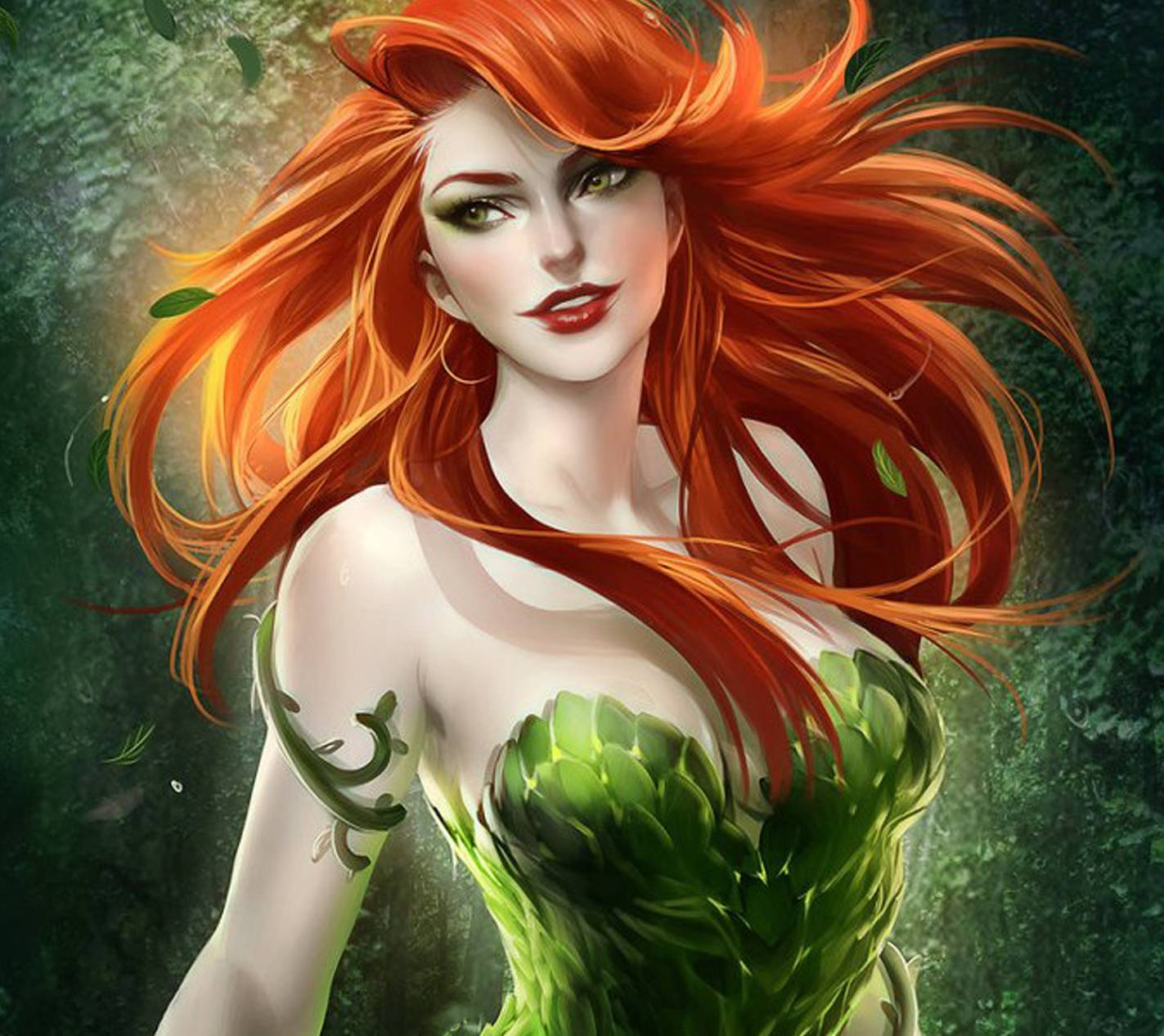 1423x1267 Poison Ivy Wallpaper by ZeusImages - 65 - Free on ZEDGE™