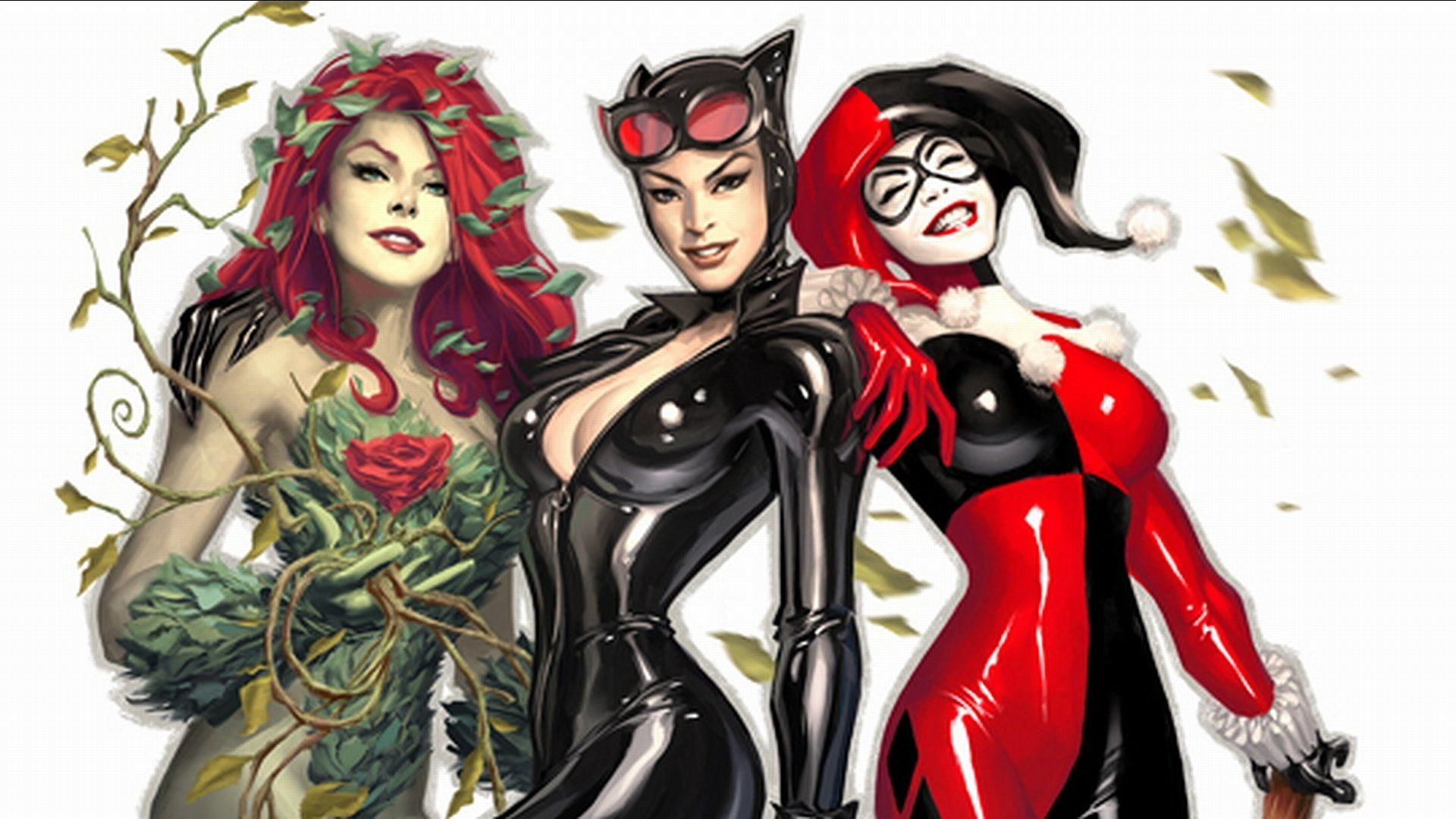 1920x1080 125 Poison Ivy HD Wallpapers | Background Images - Wallpaper ...