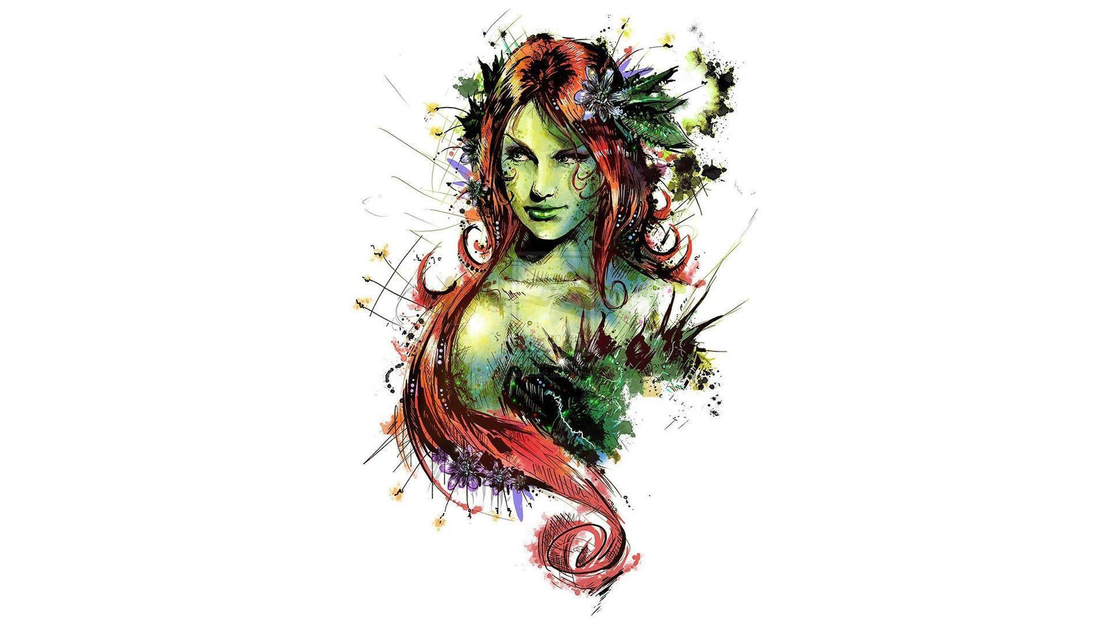 3840x2160 DC Ivy Comics Poison Poison ivy HD Wallpapers, Desktop ...