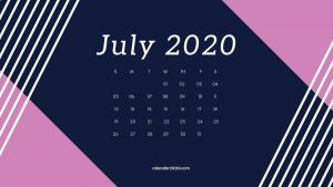 July 2020 Calendar Wallpapers – Top Free July 2020 Calendar Backgrounds