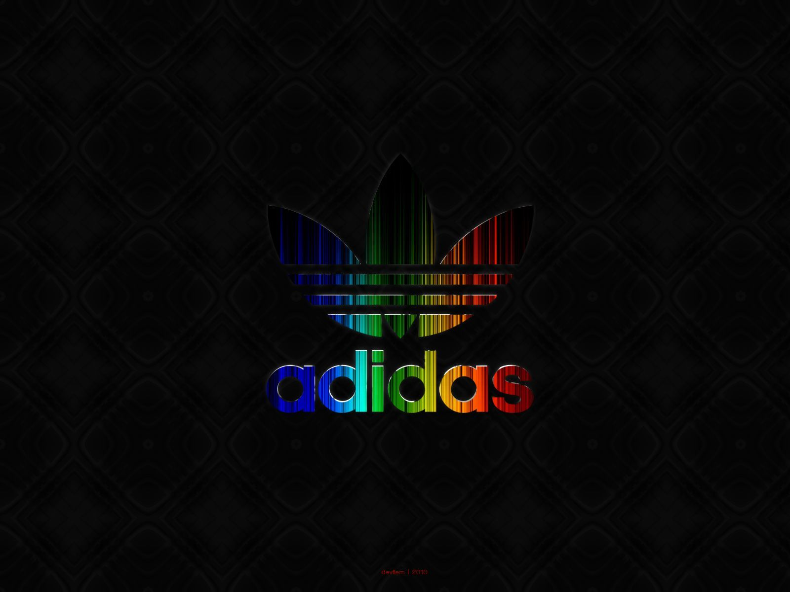 1600x1200 Adidas Logo Wallpapers Neon