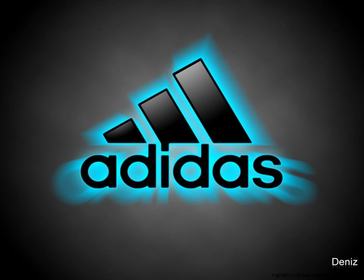 1194x921 Adidas Shoes Logo Wallpapers Neon
