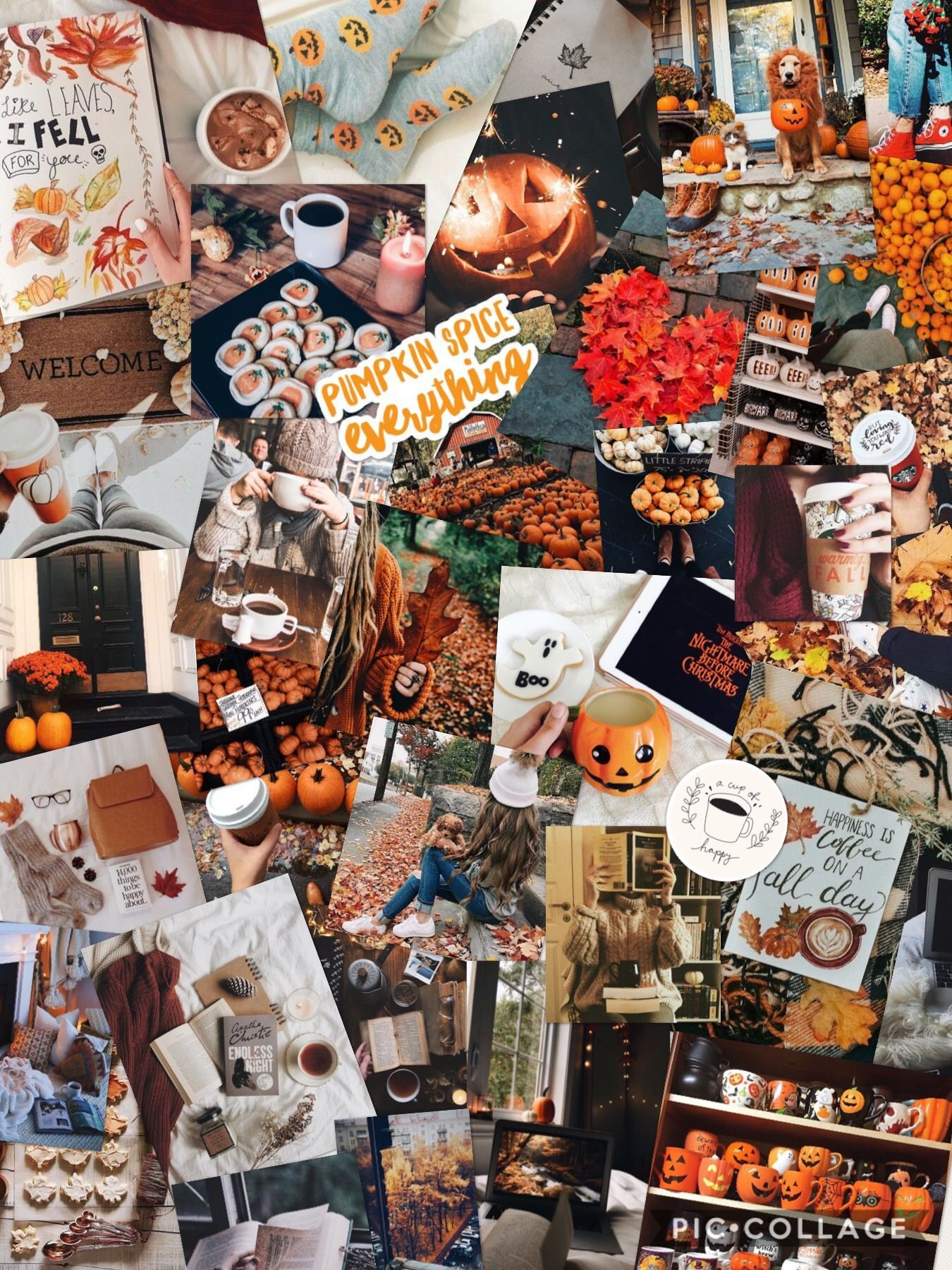 1350x1800 Fall Pictures, Fall collage, Love fall ...