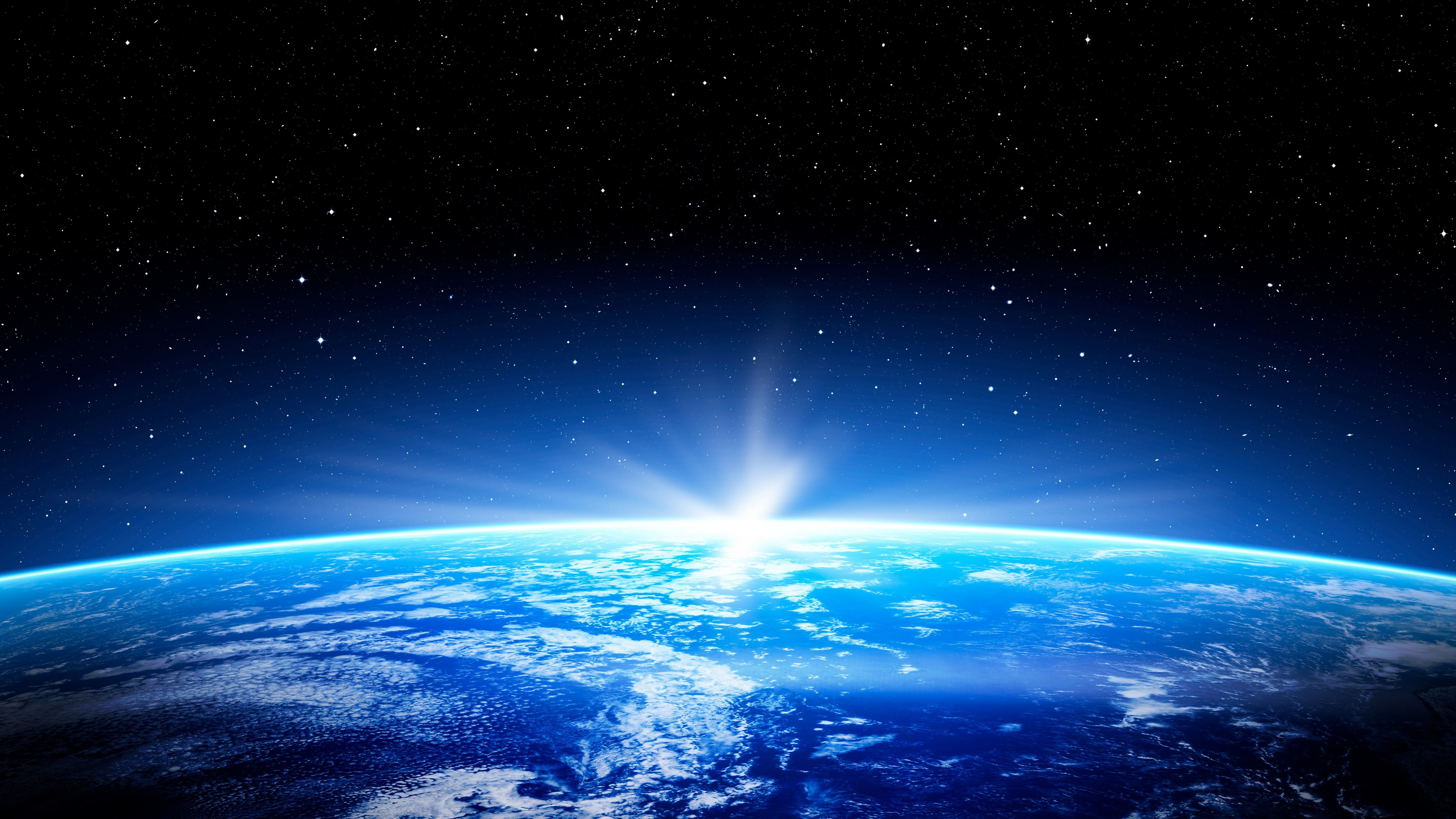 5120x2880 Wallpaper Earth, space, planet, star, 5k, Space #17861
