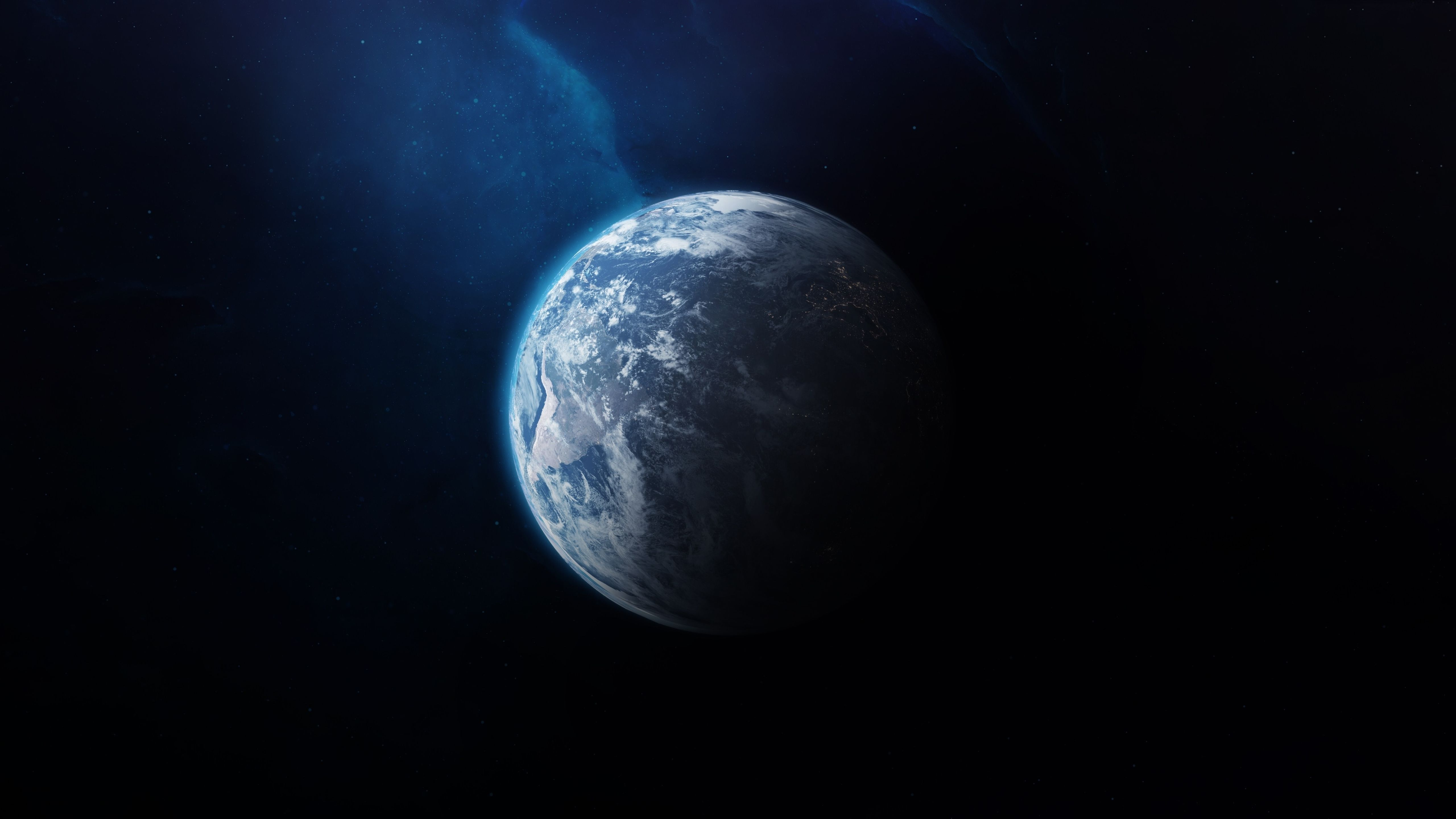 5120x2880 5120x2880 Earth From Outer Space 5K Wallpaper, HD Space 4K ...