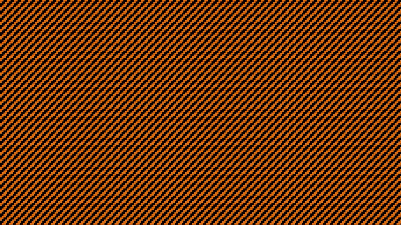 1366x768 Free download Orange Carbon Fibre [1600x900] for your ...